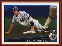2009 Topps Chrome Baseball #1 Alex Rodriguez