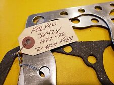 FORD FLATHEAD V-8 1932-36 21 STUD  HEAD GASKETS  FELPRO W / NEW INTAKE GASKETS