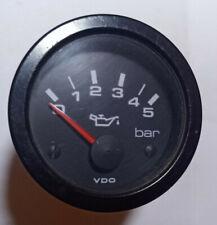 VDO Öldruckanzeige 5 bar Zusatzinstrument Öldruckmanometer