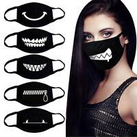 Mundschutz Behelf-Mund-Nasen-Atem-Schutz Maske Waschbar mit Aufdruck