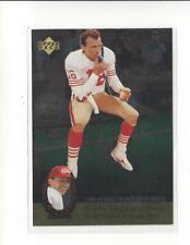 1995 Upper Deck Joe Montana Trilogy #MT15 Joe Montana 49ers
