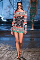 Missoni Knitted Long Sleeved Tunic (Spring Summer 2017 Runway Collection)