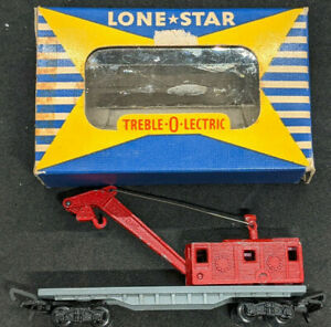 Lone Star Locos: Treble-O-Lectric  Breakdown Crane OOO gauge N, Die Cast. RARE