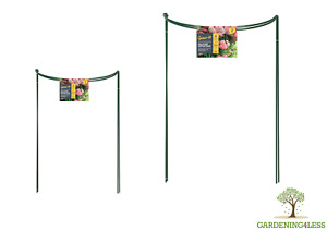 Garden Metal Herbaceous Plant Support Cage Grow Through Hoop 35cm 45cm 60cm 90cm
