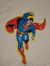"Lot Of 2 Retro Superman 9""X13"" And 12""X9"" ""Bang"" Metal Tin Signs."