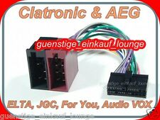 AEG Prology Clatronic AUDIO VOX FOR YOU CAVO SPINA ADATTATORE RADIO AUTO