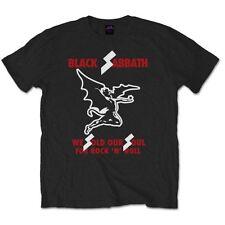 """Black Sabbath """"We Sold Our Soul"""" Official T-Shirt Size Large"""
