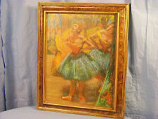 """Two Dancers"" - Edgar Degas. Print, Paperboard."