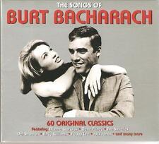 THE SONGS OF BURT BACHARACH - 3 CD BOX SET - DON'T MAKE ME OVER & MORE