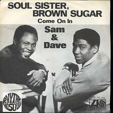 7inch SAM & DAVE soul sister, brown sugar SWEDEN 1968 EX