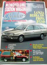 1995 RIVISTA 'RADAR: MONOVOLUME E STATION WAGON' ANNO 1 - NUMERO 1 AUTOMOBILISMO