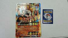 1X JUMBO OVERSIZED Mega M Camerupt XY198 Holo FOIL -Black Star Promo  NM Pokemon