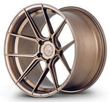 20x9 Ferrada Forge8 FR8 5x112 +27 Matte Bronze New Rims Set (4)