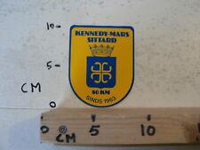 STICKER,DECAL KENNEDY MARS SITTARD 80 KM SINDS 1963