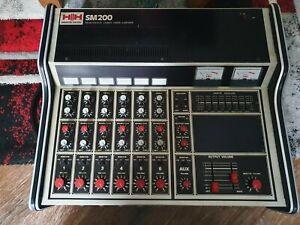 HH SM200 mixer vintage amplifier with 6 track mixer