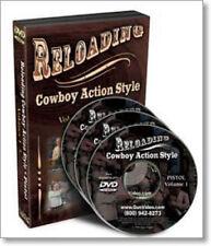 Reloading (Cowboy Action Style) Pistol - 3 DVD Set/guns