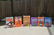 Cereal boxes, Wheaties, other brands