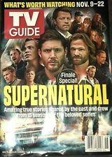 TV Guide (Nov 9-22 2020)  Supernatural Finale - Jensen Ackles Jared Padalecki