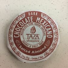 Taza Chocolate - Organic 40% Stone Ground Dark Chocolate Mexicano Discs Salted
