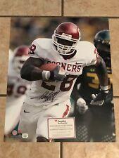 Adrian Peterson Oklahoma Sooners OU Signed Autograph 16x20 Football Photo COA