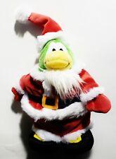 "Club Penguin - Christmas Santa 7"" Series 5 Plush (JAKKS Pacific, Disney) Plushie"