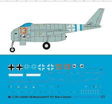 Peddinghaus 1/72 ep 3285 Luftwaffe 1946 Messerschmidt P.1101