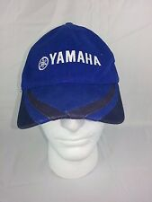 Yamaha Racing Cap Hat Blue Stripe OSFM