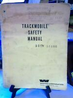 Whiting 5 TM 51886 Trackmobile Diesel Rail Car Safety Manual