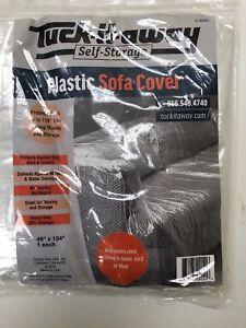 Plastic Clear Sofa Cover
