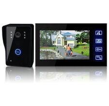 """2.4G 7"""" Wireless Video Door Phone Camera Doorbell Home Security Intercom System~"""