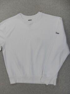 FootJoy Titleist Logo Crew Golf LINKS Pulllover Shirt (Mens Medium) White