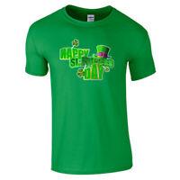 St Patrick's Day Irish Ireland Leprechaun Patricks Men Women Unisex T-shirt 1840