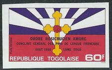 Togo - Rosenkreuzer-Bruderschaft postfrisch 1980 Mi. 1498 B