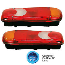 2 x GENUINE VIGNAL REAR TAIL LAMP LIGHT CITROEN JUMPER DAF LF VOLVO FE FL LH /RH