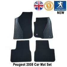 Peugeot 2008 Carpets Floor Car Mat Black Limited Edition Genuine New 1 x Set