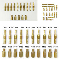 20x Main Jets + Slow Pilot Jets Kit for Motorcycle Carburetor Carb High Quality