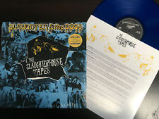 SLAUGHTER & THE DOGS - The Slaughthouse Tapes Blue Vinyl Situations Bootboys Oi