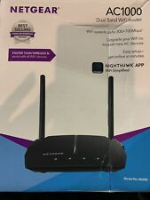 NETGEAR - AC1000 Dual-Band Wi-Fi 5 Router - Black