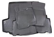 3D TPE Gummimatten + Kofferraumwanne SET für Chevrolet Captiva ab 2006