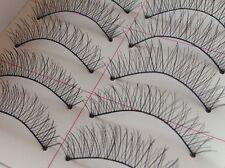High Quality Handmade 10 Pairs Cross Charming Natural Soft False Eyelashes #219