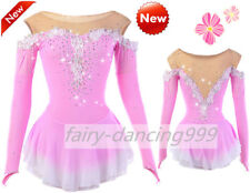 New Ice Figure Skating Dress Baton Twirling Dance Custom Dress Competition p400