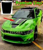 Dodge Charger Power Bulge Hood Decal Daytona SRT Hellcat 392 Scat Pack 2015-2019