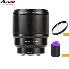 VILTROX 85mm f1.8 Mark II Auto Focus STM Portrait Lens for Fujifilm X Mount
