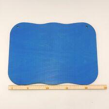 Holzplatte zum Basteln 24cm Türschild Deko Geschenkidee blau