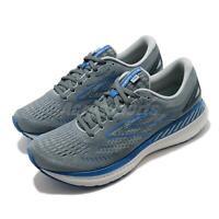 Brooks Glycerin GTS 19 2E Wide Grey Blue Men Road Running Shoes 1103572E 095