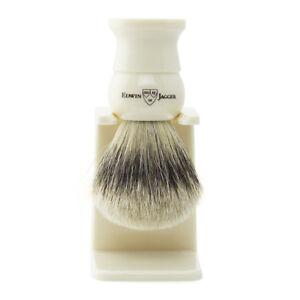 Edwin Jagger Shaving Brush - Super Badger & Stand - 1EJ287SDS