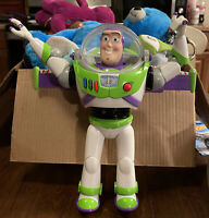Disney Store Toy Story 4 Buzz Lightyear Interactive Talking Action Figure WORKS