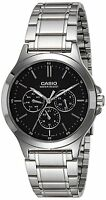 Casio MTP-V300D-1A Men's Multi-Dial Stainless Steel Men's Watch