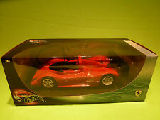 HOTWHEELS  1:18  FERRARI ENZO - RARE SELTEN - NEAR MINT IN SEALED BOX:
