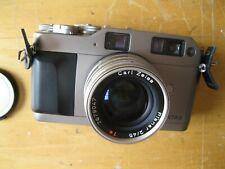 Contax G1 & Carl Zeiss Planar 45mm. 35mm rangefinder film camera